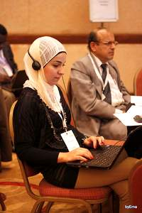 Mai Touma from Syria - GCARD2 social reporter