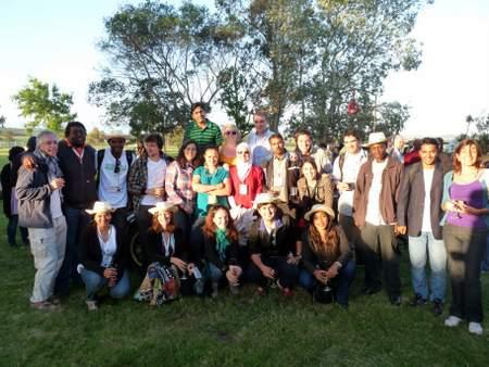 social reporters team at GCARD2