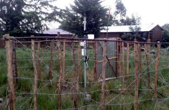 Local weather station to improve agriculture practices