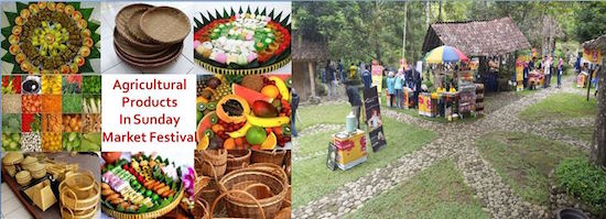 Sunday Market Festival for Agricultural Products - Juli Purnomo - Indonesia
