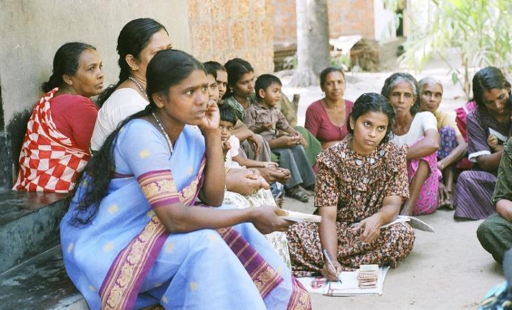 An_ESAF_Sangam_Meeting_in_progress_in_Kerala