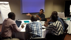 Group discussions on data needs and gaps through the value chain