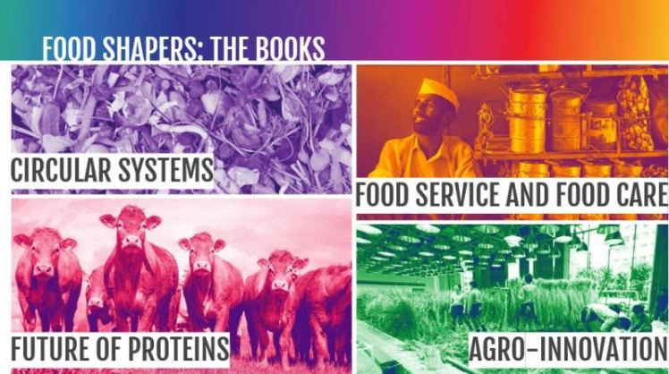 Food Shapers books